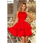 205-1 LAURA double flared dress