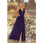 215-2 LEA long sleeveless dress