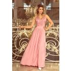 215-3 LEA long sleeveless dress