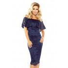 MM 013-4 Lace dress - spanish - GRANAT