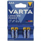 Batterie VARTA Micro AAA 4er Longlife Alkaline