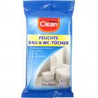 Feuchttücher Bad & WC 32er 17x20cm