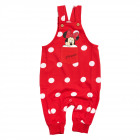Mickey Mouse - Minnie Dungarees red
