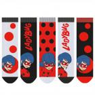 Miraculous - Lot de 5 chaussettes enfant filles