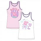 Peppa Pig - Kinder Unterhemd Mädchen 2er Pack