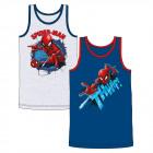 Spiderman - Kinder Unterhemd Jungen 2er Pack