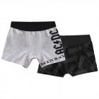 AC / DC - Lot de 2 boxers rétro pour homme