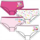 Peppa Pig - Kinder Unterhose Mädchen 4er Pack
