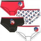 Miraculous - Lot de 4 sous-vêtements pour enfants