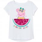Peppa Pig - kinderen T-Shirt Meisje weet het