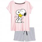 Peanuts - à manches courtes pyjamas Dames