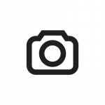 Ladies Rib Top strip with lace, ecru mottled / sm