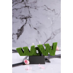 WoW candle XXL - Lime pearl
