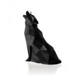Candle wolf - matte black