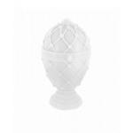 Faberge egg candle XXL - White