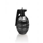 Candle grenade - metallic silver