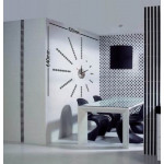 Clock with sticker on the wall - do it yourself