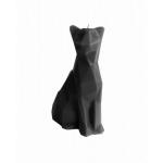 Kaars cat - zwart