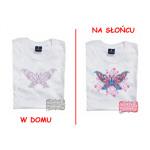 T-Shirt die Farbe wechselt - Schmetterling