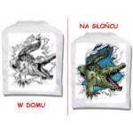 T-Shirt die Farbe wechselt - Krokodil