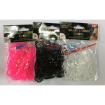 Loom Bands - Armband mit gumeczek 200 Stück