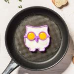 Mold voor eieren - uil