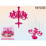 candele Candeliere sulla torta