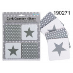 Washers star (4 pieces)