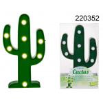 Plastic cactus LED