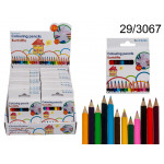 Wooden crayons mini (12 pieces)