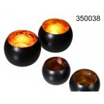 Kandelaar metalen zwart
