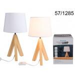 Lampe 40 cm - Holzständer