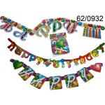 Papier guirlande verjaardag