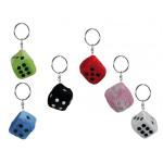 Plush Cube keychain