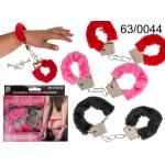 Handschellen mit Fell - Farbmischung