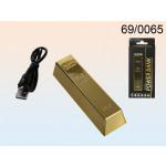 Powerbank Goldbarren - 2200 mAh