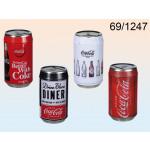 Piggy bank Coca-Cola