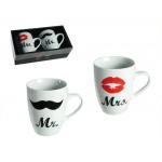 Tassen Mr. und Mrs.