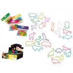 Silikon-Armbänder 24 Tiere Kondom in op