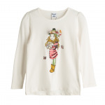 Clothing for children and babies - girl sequined T