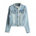 Clothing for children and babies - denim jacket wi