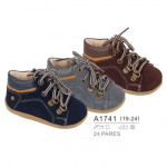 Children and baby clothes - lace-up boots, sale at