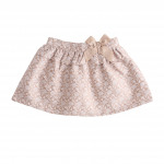 Children's Clothing - Printed Skirt with Bow