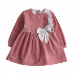 Clothing for children and babies - dress with bow