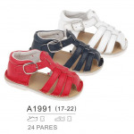 Children and baby clothes - sandals leather closin