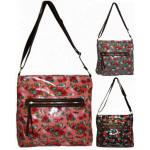 2478 Pintado bolsos rosas monedero de las mujeres