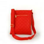 FB15 acolchado bolso de las mujeres bolsos de Cora