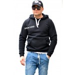 Kangaroo sweatshirt, fabrikant, kwaliteit, zwart