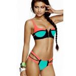 Bikini, costume da bagno, castelli, acquamarina