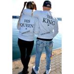 Sweatshirt for her, HIS QUEEN, manufacturer, quali